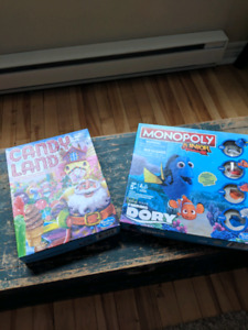 Junior Monopoly and Candy Land