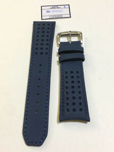 23mm Leather strap / bracelet/ band for Citizen Blue Angels