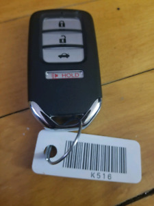 Honda Civic Keyless Entry