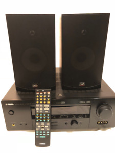 Yamaha Stereo Receiver + PSB Alpha B Speakers