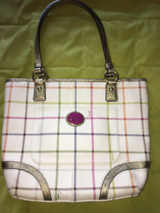 Leather Coach Purse - mint condition $100 OBO