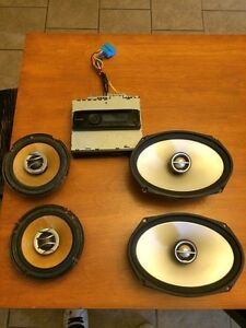 Speakers and deck