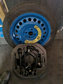 Spare wheel and kit
