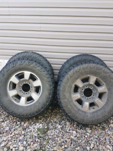 F350 wheels and tires