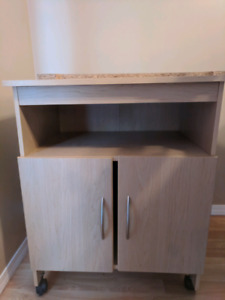 Microwave stand in need of some TLC