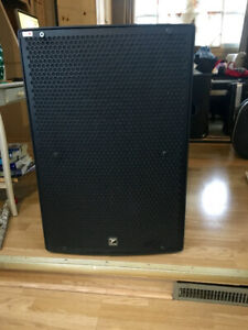 """2 YORKVILLE PARASOURCE  NEARLY NEW  15"""" POWERED SPEAKERS"""
