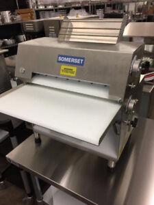 SOMERSET CDR-2000 DOUBLE PASS DOUGH SHEETER/ROLLER AMERICAN MADE