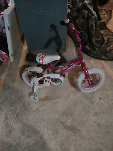 Pink girls supercycle bicycle