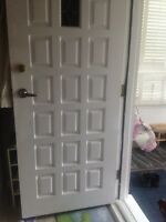 Beautiful wooden entrance door 34x80