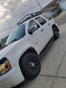 2012 White Tahoe Police