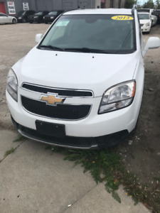 2013 CHEVY ORLANDO LT - SAFETIED FOR $7995+HST!