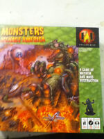 Monsters Menace America the board game