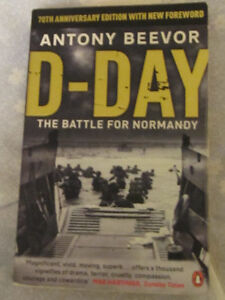 D Day by Anthony Beevor