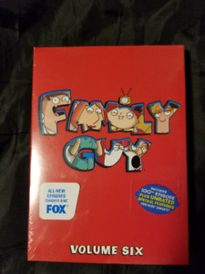 Family Guy Volume Six NEW DVD Box Set