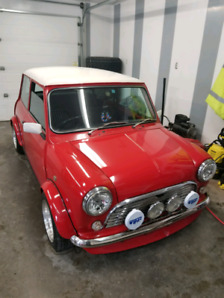 1991 Mini 1275 GT (with working air )