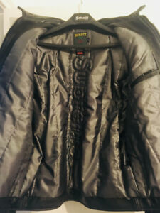 Supreme Schott Leather Work Jacket--Large