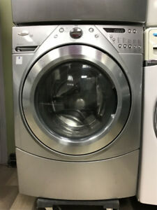 "27"" WHIRLPOOL DUET DIGITAL GREY WASHER"