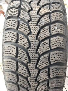 4 Extreme Grip Winter Claw Tires & Rims - 205/55R16