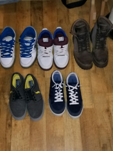 Mens sneakers and boots