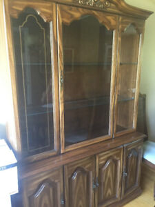 Dining room Buffet/Hutch cabinet