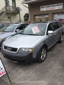 2003 Audi Allroad Quattro with only 119000kms