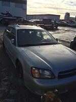 Parting out 2002 Subaru Legacy