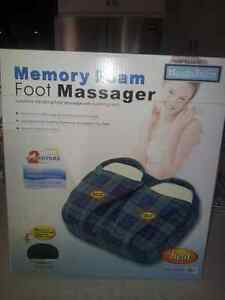 Health Touch Foot Massager with heat and vibration, new London Ontario image 2
