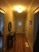 Ground floor rented - upstairs apt. still available