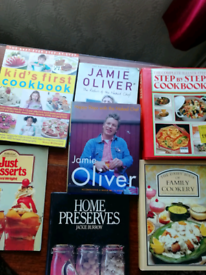 7 Cookery books