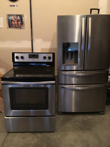 Whirlpool Fridge and stove for sale. Willing to sell separately