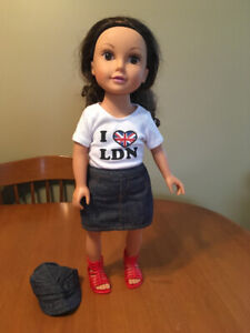 """18"""" doll journey girls doll with outfit. Like American girl"""