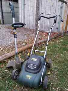 Electric Lawnmower & Weed Trimmer Peterborough Peterborough Area image 1