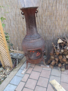 Fireplaces... Cast iron Outdoors Wood Burg Fireplaces..