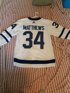 Auston Matthews Authentic Leafs Adidas Jersey New with Tags