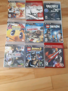 PS3 /  Jeux PS3 / station lego / Games PS3