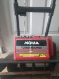 small snowblower Electric