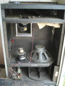 haut parleur amplifié rotatif LESLIE 760 fait en 1970 100% orig.