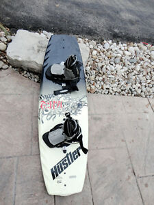"Hyperlite Era 137 Wakeboard Erik Ruck 2.6"" Subtle 3-stage Rocker"