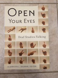 Open Your Eyes Deaf Study Talking