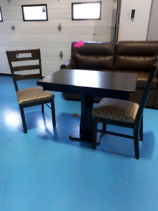 Small table and 2 chairs