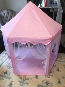 Girls Princess Castle Play Tent Large Playhouse Indoor Outdoor
