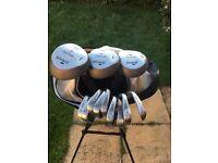 Howson Derby 2 golf club set with bag and trolley