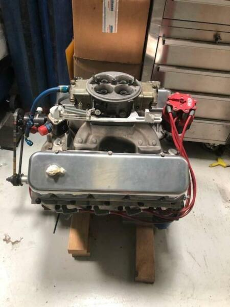 Scott Shafiroff 592 BIG BLOCK CHEV   Engine, Engine Parts