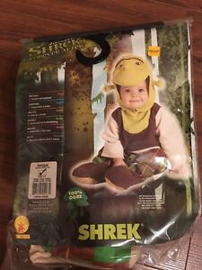3-6 month shrek costume - new never worn