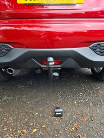 Nissan juke detachable towbar
