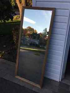 MIRROR 57X25 - USED West Island Greater Montréal image 2