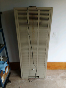 Propane heater with blower