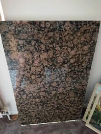 Gorgeous solid granite worktop /table top kitchen island