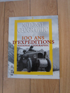 NATIONAL GEOGRAPHIC - 100 ANS D'EXPÉDITIONS
