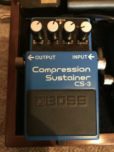 Boss Ce-3 Compression sustainer guitar pedal - Monte Allums Mod